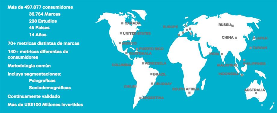 Mapa BAV
